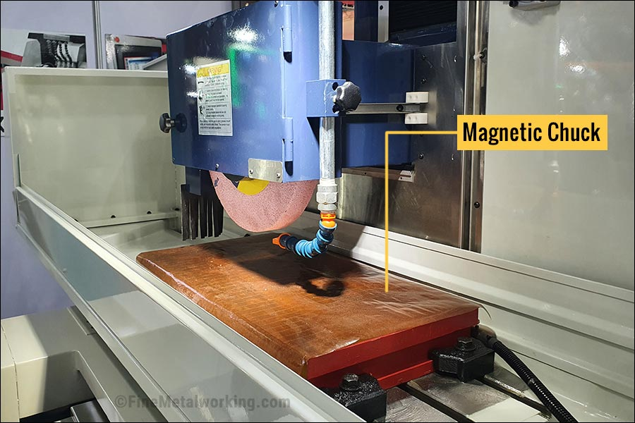 Magnetic Chuck for Grinding